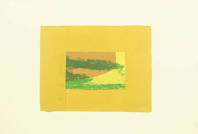 Howard Hodgkin, 'Indian View F', 1971