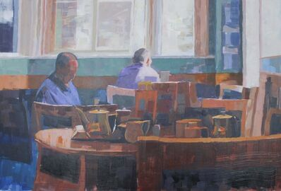 Ceri Allen, 'Blue interior', 2018