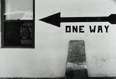 Arnold Newman, 'One Way, West Palm Beach', 1941