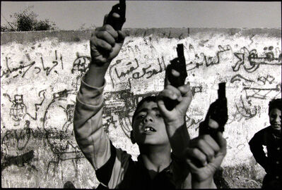 Larry Towell, 'Gaza City, Gaza [boys w/ toy guns]', 1993