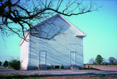 William Christenberry, 'Havana Methodist Church, Havana, Alabama', 1976