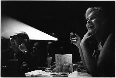 Elliott Erwitt, 'Marilyn Monroe and Lee Strasberg Watching the Rushes of 'The Misfits', Reno, Nevado, 1960', 1960