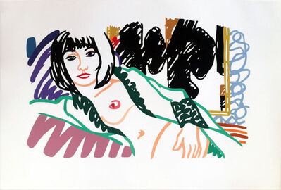 Tom Wesselmann, 'Monica in Robe with Motherwell', 1994