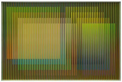 Carlos Cruz-Diez, 'Physichromie Panam 270', 2017