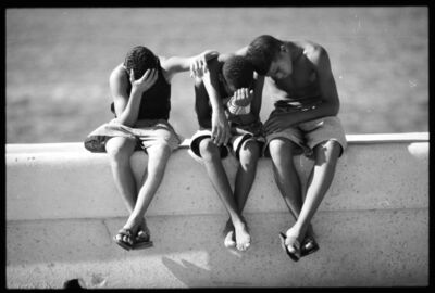 Henry Horenstein, 'Friends, El Malecon, Cuba', 2000