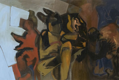 Leopold Plotek, 'Aubade (tired starlings)', 2009