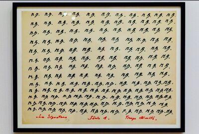 Marcel Broodthaers, 'La Signature Serie 1', 1969