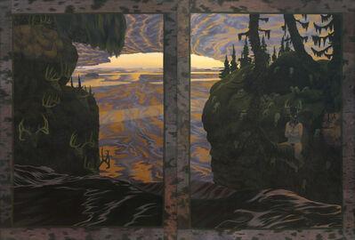 Tom Uttech, 'Skull River Falls', 1975