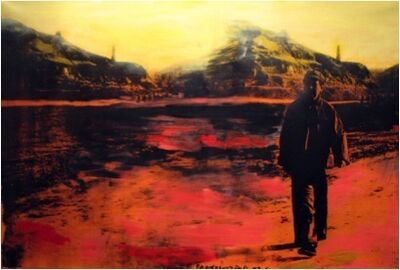 Zhang Dali, 'Mao in Yan'an', 2009