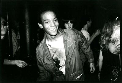 Nicholas Taylor, 'Jean-Michel Basquiat Dancing at The Mudd Club (Basquiat Boom for Real) ', 1979