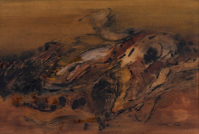 Mak Kum Siew, 'Untitled (Abstract)', 1963