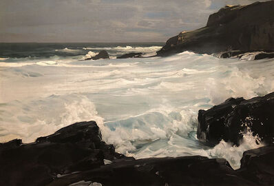 Frederick Judd Waugh, 'Foaming Surf'