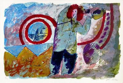 Theo Tobiasse, 'L'HOMME A LA CRUCHE', UNKNOWN