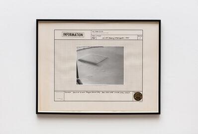 Iain Baxter&, '12' x 12' Floor 1/2 Shiplapped - 1968', 1970