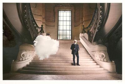 Berndnaut Smilde, 'Karl Lagerfeld: Iconoclouds', 2013