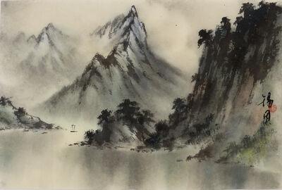 Kenny Sik-yun Mak, 'Landscape V 山水圖 (五) ', 2015