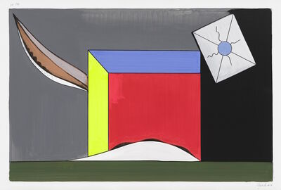 Thomas Scheibitz, 'gp 194', 2017