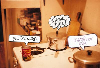 Eugene James Martin, 'I Drank it All!', 1988