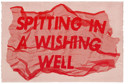 Raul Walch, 'Spitting In A Wishing Well', 2020