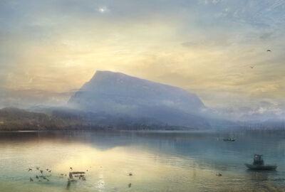 Hiroyuki Masuyama, 'J.M.W. Turner The Blue Rigi, Sunrise, 1842', 2008