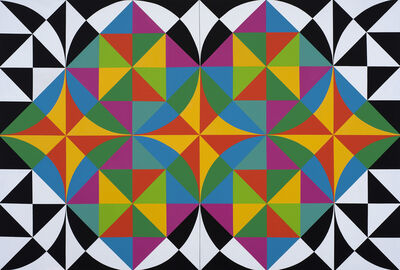 Rasheed Araeen, 'From the Opus series (9)', 2018