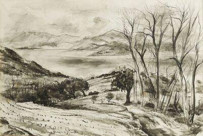 André Dunoyer de Segonzac, ''Le chemin du golfe' (A road to a gulf)', c.1960