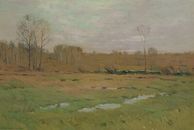 Charles Warren Eaton, 'Later Winter Pasture', 1900