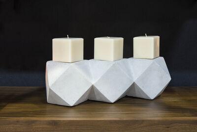 SOHO, 'Veladora triple de concreto', 2014