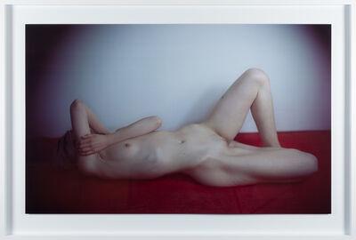 Richard Learoyd, 'Large red nude (female)', 2016