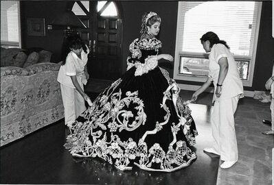 Laura Wilson, 'Debutante with her Maids, Laredo, Texas', ca. 1994