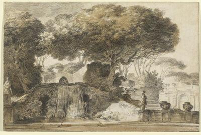 François-André Vincent, 'Park of an Italian Villa', 1774/1775