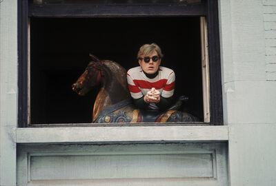 Hervé GLOAGUEN, 'Andy WARHOL at Lexington avenue flat, NY 1966', 1966