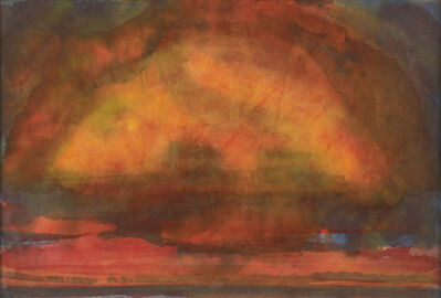 John Houston, 'East Lothian Sunset', 1978