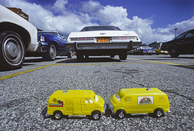 Robert Funk, 'Two Yellow Toy Trucks', 1978