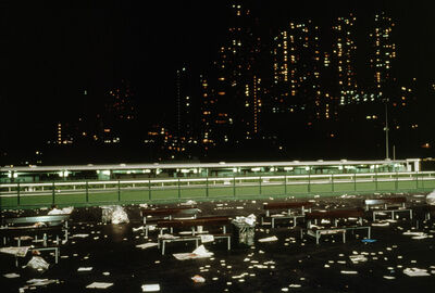 Chien-Chi Chang, 'Happy Valley, Hong Kong', 1999
