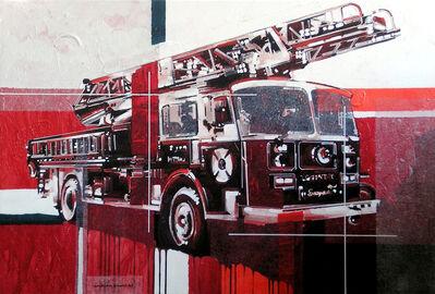 Andrea Gnocchi, 'Fire Truck', 2007