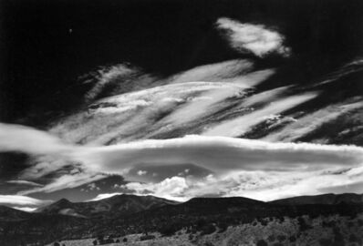 Minor White, 'Henry Mountains, Utah', 1966