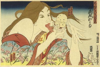 Masami Teraoka, '31 Flavors invading Japan', 1982