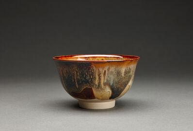Miraku Kamei XV, 'Tea bowl (chawan), kakewake'