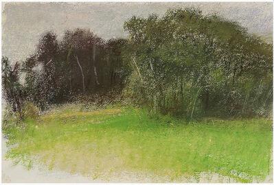 Wolf Kahn, 'Moody American Landscape ', 1995