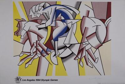 Roy Lichtenstein, 'Red Horsemen', 1982