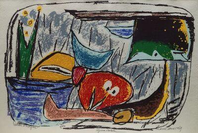 Marcel Janco, 'Cotadi et Dragomir', 1969