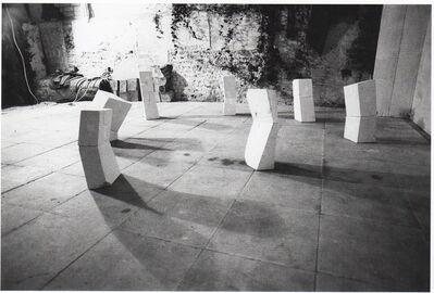 Nicholas Pope, 'Seven Odd Chalks', 1978