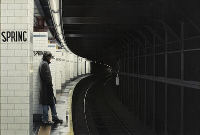 Max Ferguson, 'Subterraneans X (Spring Street)', 1984