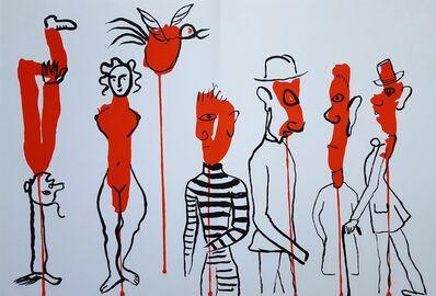 Alexander Calder, 'Derrière le Miroir No. 156 (Circus 3 - Les Gueules Degoulinantes)', 1966