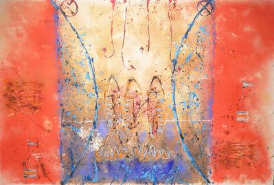 Carlos Vivar, 'Salmones de la Suerte', 2017