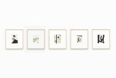 Robert C. Morgan, 'Untitled, from the series Living smoke and clearwater drawings (Set B)', 1967