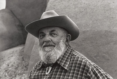 Beaumont Newhall, 'Ansel Adams, Ranchos de Taos, New Mexico, ', 1980-Printed 1983