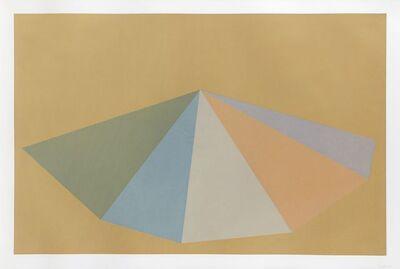 Sol LeWitt, 'Pyramids, Plate #03', 1987
