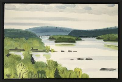 Gregory Botts, 'Susquehanna towards Rockville Bridge, Pa', 2011